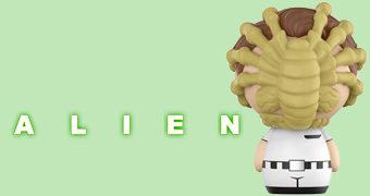 Boneco Dorbz Alien Face Hugger