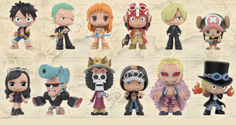One Piece Mystery Minis – Mini-Figuras Funko Blind-Box