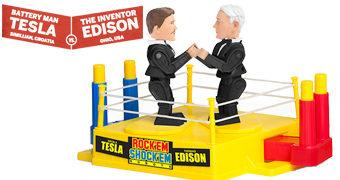 Guerra das Correntes: Thomas Edison Vs. Nikola Tesla