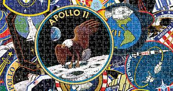 Quebra-Cabeça NASA Mission Patches