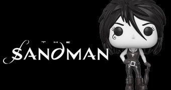 Boneca Pop! Death (Morte) – Sandman de Neil Gaiman