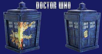 Doctor Who TITANS: TARDIS Pandorica Opens (Vincent van Gogh)