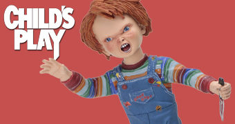 Boneco Bobble Head Chucky Head Knocker (Brinquedo Assassino)
