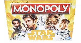 Jogo Monopoly Han Solo: Uma História Star Wars