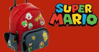 Mini-Mochila Super Mario Patches