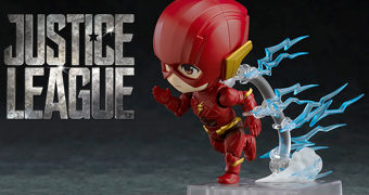 Boneco Nendoroid The Flash – Liga da Justiça