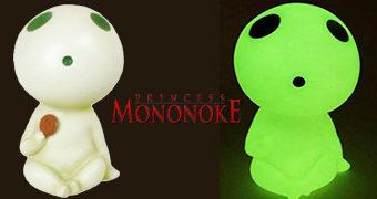Cofre Espírito da Floresta Kodama em Princesa Mononoke (Hayao Miyazaki)