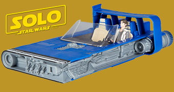 Landspeeder do Han Solo com Force Link 2.0 (Solo: A Star Wars Story)