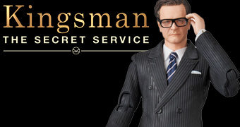 Harry Galahad MAFEX (Colin Firth) Kingsman: The Secret Service – Action Figure Medicom