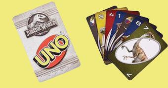 Jogo de Cartas Uno Jurassic World: Reino Ameaçado
