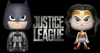 Dupla VYNL Mulher Maravilha e Batman