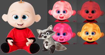 Boneco Eletrônico Bebê Zezé com Luzes e Sons (Os Incríveis 2)