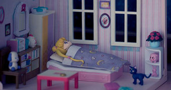 Casa de Boneca Diorama Sailor Moon Usagi's Room