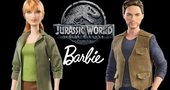 Bonecas Barbie Jurassic World: Reino Ameaçado