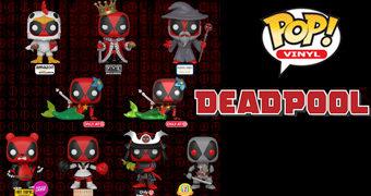 Bonecos Pop! Deadpool Exclusivos: Sereia, Rei, Galinha, Panda, Samurai e Outros!