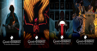 "Quebra-Cabeças Game of Thrones ""Beautiful Death"" de Robert Ball (Parte 2)"