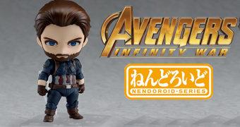 Boneco Nendoroid Capitão América – Vingadores: Guerra Infinita