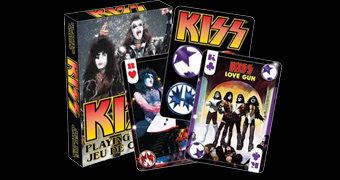 Baralho da Banda de Rock KISS