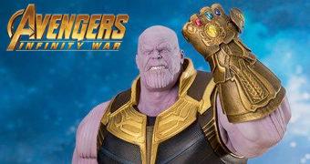 Thanos Infinity War ArtFX+ Estátua Kotobukiya 1:10 (Vingadores: Guerra Infinita)