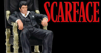 Scarface Tony Montana (Al Pacino) no Trono do Crime