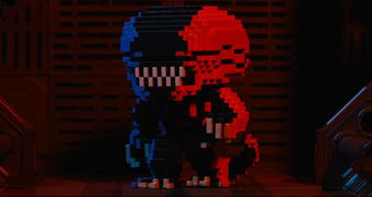 Boneco Pop! Alien Video Game Deco 8-Bit