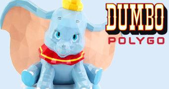 POLYGO Dumbo em Estilo Poligonal