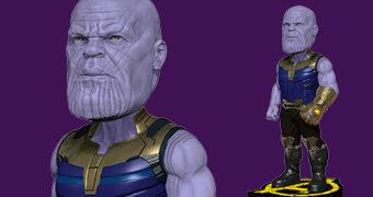 Thanos Bobble Head Vingadores: Guerra Infinita