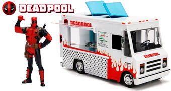 Caminhão Taco Food Truck do Deadpool (Escala 1:24)