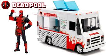 Caminhão Taco Food Truck do Deadpool (Escala 1:24)