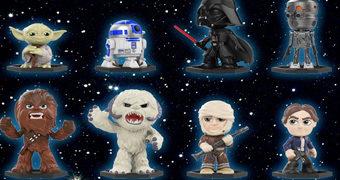 Star Wars: O Império Contra-Ataca Mystery Minis – Mini-Figuras Funko Blind-Box