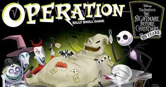 Jogo Operação The Nightmare Before Christmas 25 Anos