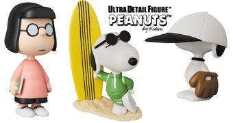 Bonecos Peanuts UDF Série 9 da Medicom Toy Japão