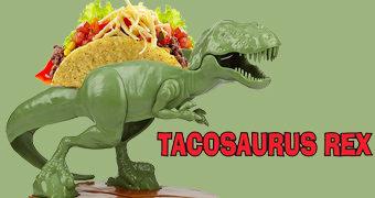 Porta-Tacos TACOSaurus Rex!