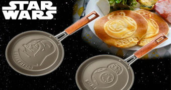 Frigideiras de Panquecas Star Wars: Darth Vader e BB-8
