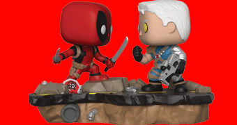 Deadpool vs Cable Pop! Comic Moments