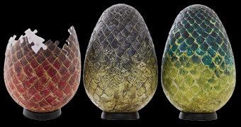 Quebra-Cabeças 3D Ovos de Dragão Game of Thrones