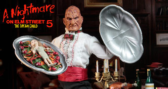 Chef Freddy Krueger – Action Figure Retro Neca A Hora do Pesadelo 5