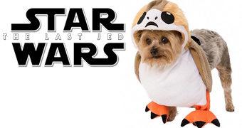 Transforme Seu Cãozinho num Porg com a Fantasia Canina Star Wars!