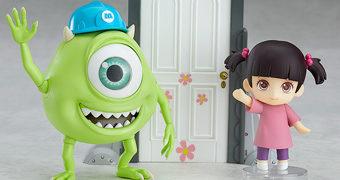 Bonecos Nendoroid Mike Wazowski e Boo – Monstros S.A.
