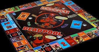 Deadpool Monopoly Edição de Colecionador