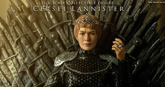 Cersei Lannister (Lena Headey) em Game of Thrones – Action Figure Perfeita 1:6 ThreeZero