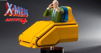 Professor Charles Xavier ArtFX+ Estátua Kotobukiya 1:10 X-Men: Animated Series