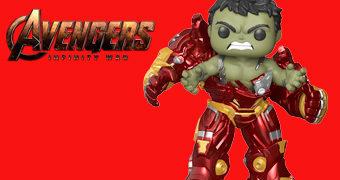 Hulk Esmaga a Hulkbuster! Boneco Pop! Super Sized com 15 cm