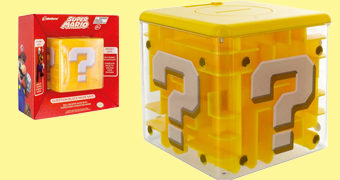 Cofre Labirinto Bloco Interrogação Super Mario