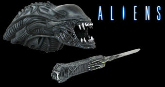 Abridor de Cartas Alien Xenomorpho