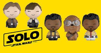 Bonecos Dorbz Han Solo: Uma História Star Wars