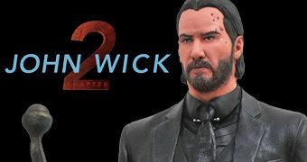Estátua Diorama John Wick 2 Um Novo Dia Para Matar (Keanu Reeves)