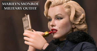 Marilyn Monroe na Coréia em 1954 – Action Figure 1:6 Star Ace Toys