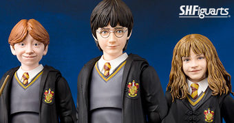 Action Figures S.H.Figuarts Harry Potter e a Pedra Filosofal