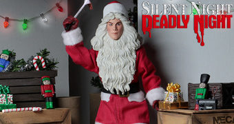 Billy Chapman no Filme Silent Night, Deadly Night (Natal Sangrento) – Action Figure Retro Neca